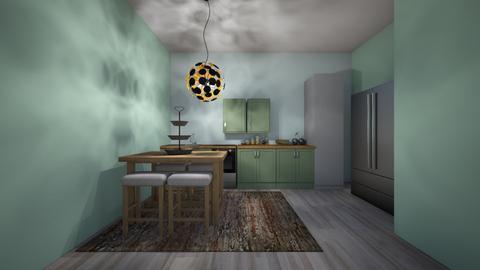 mint kichten - Glamour - Kitchen - by jmeyer2x4