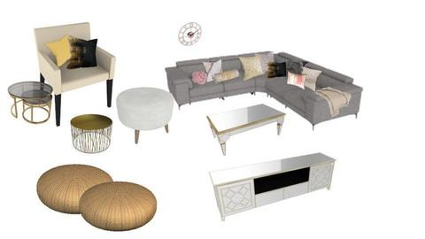 Living Room - by x33snowwhite
