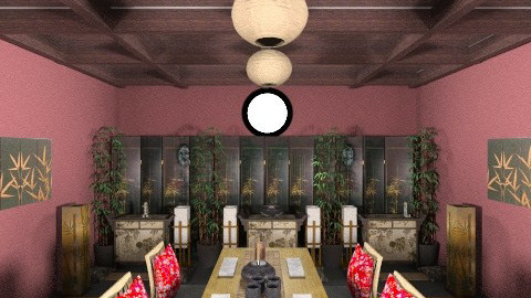 asian zen - Vintage - Dining room - by Linda Eubanks