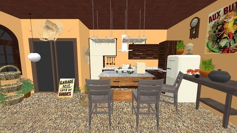 Contest OAK kitchen - Rustic - Kitchen - by harshada samant