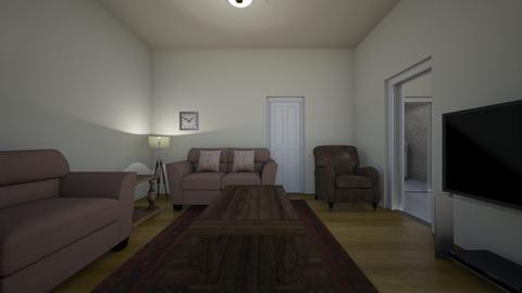 Brooklyn Loft - Living room - by WestVirginiaRebel