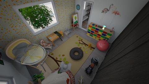 detska izba - Kids room - by kristinabaranova