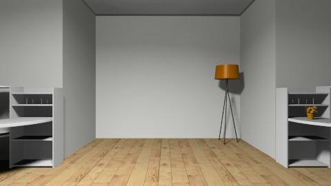 Josh ORANGE office - by cici45