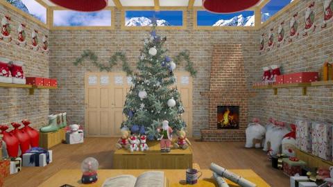 santa storage room 1 - Living room - by milicamima12345