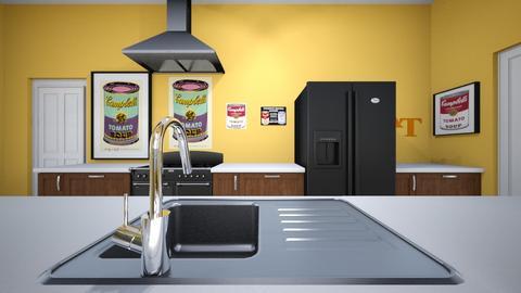 Narrow Kitchen 4 - Kitchen - by SammyJPili