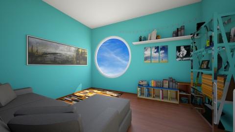 Book Room - Living room - by valenietube