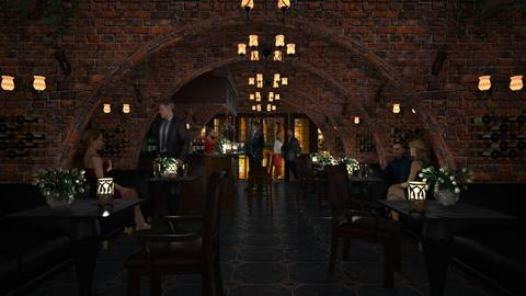 Design 386 Cozy Corner Tavern - Dining room - by Daisy320