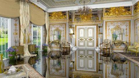 Le Bal du Printemps - Classic - Living room - by Bibiche