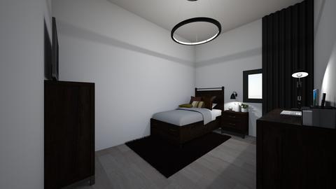 modern black and brown wh - Modern - Kids room - by jade1111