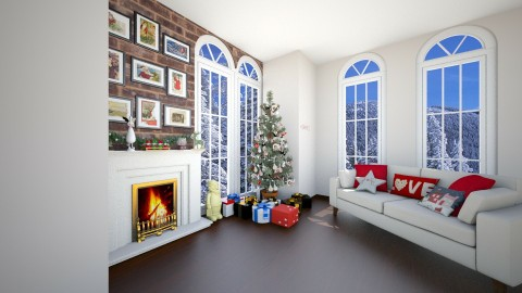 Christmas Time  - Living room - by jessicabaucke