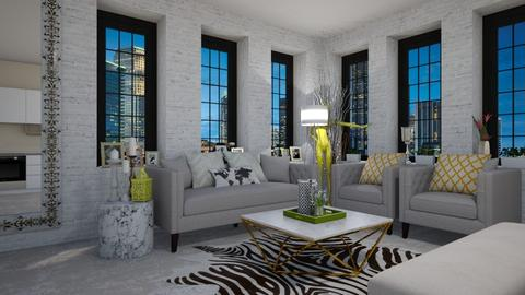 Luxe Apartment Living - Living room - by paluvica