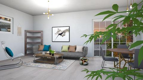 MID  - Modern - Living room - by zayneb_17