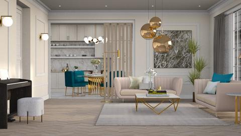 Varsovie - Living room - by JennieT8623