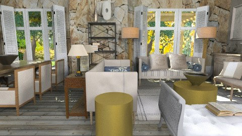 valle7399 - Country - Living room - by naki1
