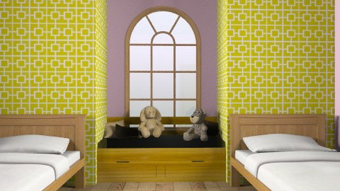 bedroom for two - Bedroom - by guayaba soda1
