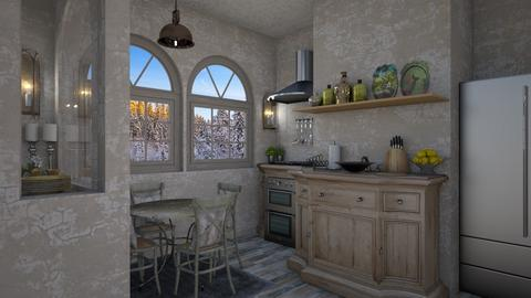 shabby chic - Kitchen - by daydreamer84