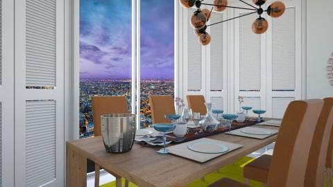 retro dining room - by eleonoraxruc