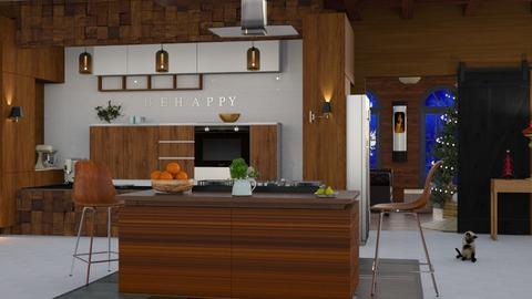 MC Kitchen   - Modern - Kitchen - by Sue Bonstra