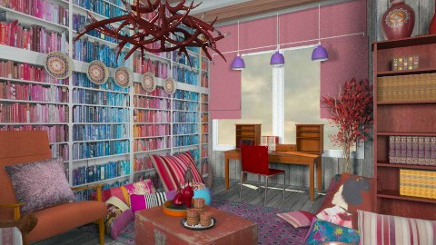 color - Eclectic - Office - by chania