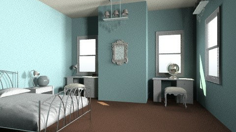 French Chateau Bedroom  - Country - Bedroom - by aubriella