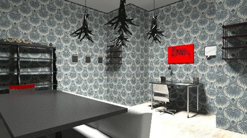 House 1 office - Glamour - Office - by chrissymorrgan