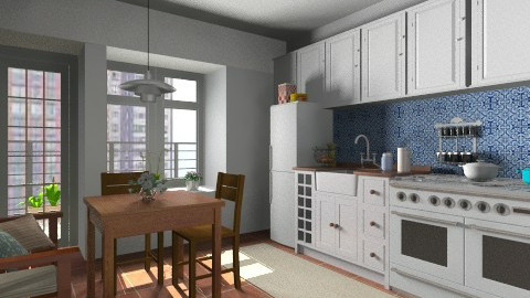 is merker - Classic - Kitchen - by Maria_Julia