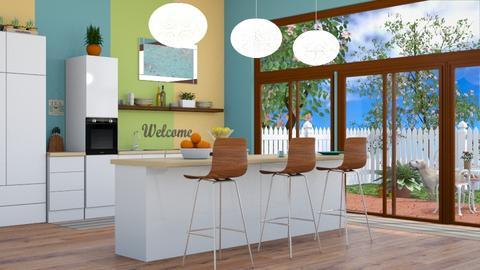 Beach Bar Kitchen - Kitchen - by abbyt94