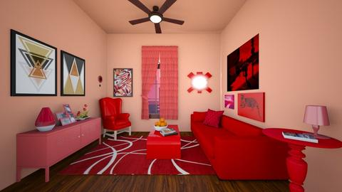 Redish 2 - Living room - by SpicyMcPie