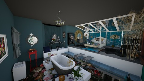Dark romance2 - Bedroom - by fruzelina