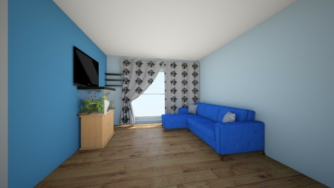 sergiu 5 - Living room - by misterds