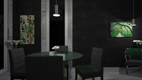 Leafy - Modern - Dining room - by XiraFizade