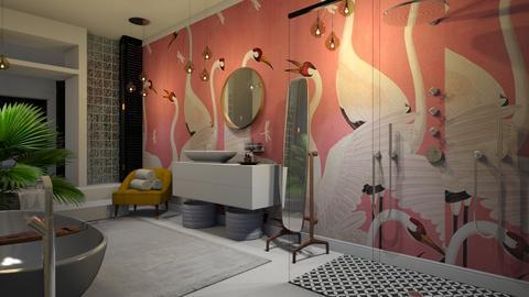 gucci heron print - Bathroom - by Ripley86