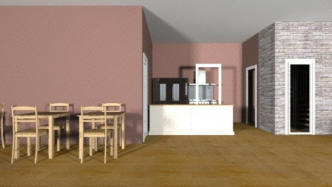 Bakery first floor final - Vintage - Kitchen - by mayadog