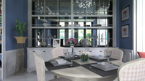 BWMF - Classic - Dining room - by XValidze