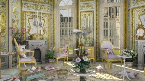 Marie Antoinette - Classic - Living room - by Bibiche