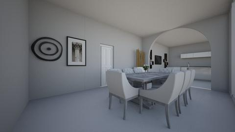 Basic Dining Room - Modern - Dining room - by CizzleG