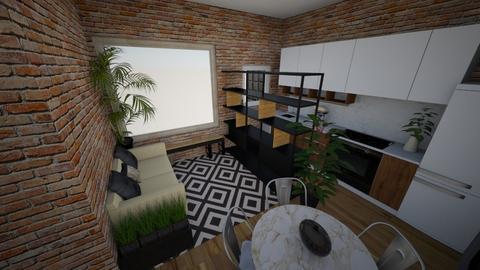 Sala esq p3 - Living room - by picroger