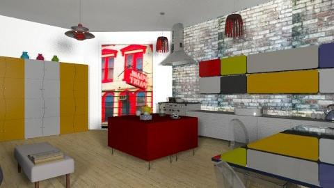 Living in town - Eclectic - Kitchen - by mrschicken