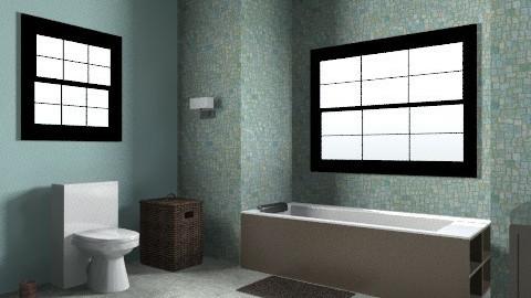 Sea Bathroom - Rustic - Bathroom - by devalev