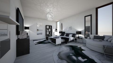Black Chic - Bedroom - by bayleehancock