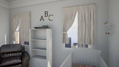 bby 3 - Modern - Kids room - by Ana Quintero