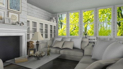Livingroom006 - Country - Living room - by Ivana J