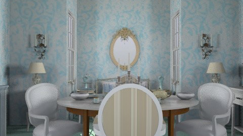 parisian dining - Glamour - Dining room - by trees designs