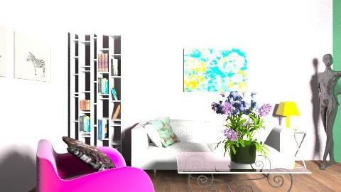 g - Living room - by elainny_0