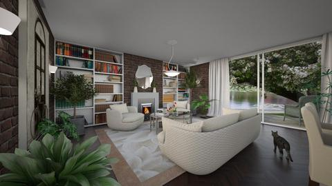 Foliage - Eclectic - Living room - by Theadora