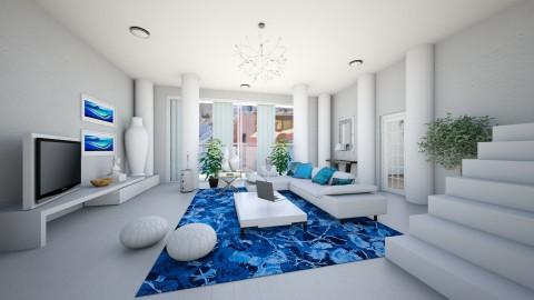 greek - Living room - by Franco Juliano Tan