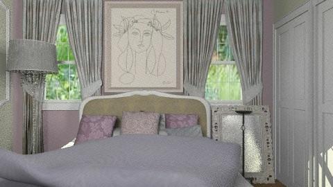 Irish Bedroom - Glamour - Bedroom - by chania