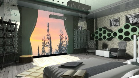 my bedroom2 - Bedroom - by mzynn