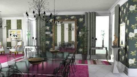 dining room 01 - Glamour - Dining room - by M_Lane