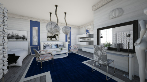 M_Modern ecl - Eclectic - Bedroom - by milyca8